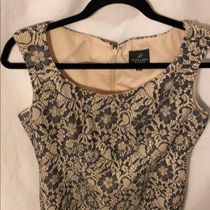 Adrianna Papell women's petite lace dress Sz 8P